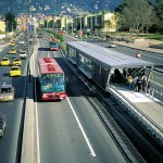 Bus Rapid Transit System in Bogota, Colombia (via Affordable Housing Institute)